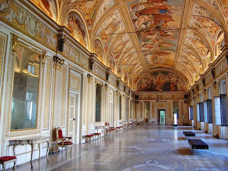 Percorsi classici guide turistiche rigoletto - Sala degli specchi ...